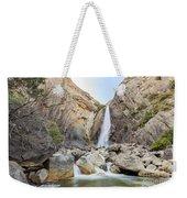 Lower Yosemite Fall In The Famous Yosemite Weekender Tote Bag