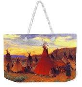 lrs Sharp Joseph Henry Evening Crow Reservation Joseph Henry Sharp Weekender Tote Bag