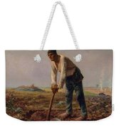 Man With A Hoe Weekender Tote Bag