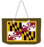 Maryland Flag Weekender Tote Bag