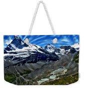 Matterhorn Panorama Weekender Tote Bag