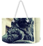 Melted Iron Guardian Weekender Tote Bag