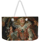 Merrymakers At Shrovetide Weekender Tote Bag