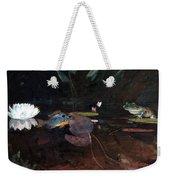 Mink Pond Weekender Tote Bag