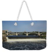 Minneapolis - Saint Anthony Falls Weekender Tote Bag