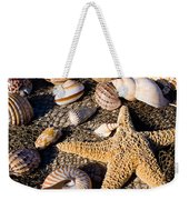 Mix Group Of Seashells Weekender Tote Bag