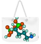 Molecular Model Of Fosamax Weekender Tote Bag