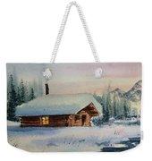 Montana Winter Weekender Tote Bag