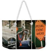 Motorcycles On Main Weekender Tote Bag