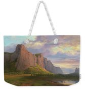 Mount Arapiles And The Mitre Rock Weekender Tote Bag