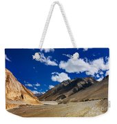 Mountains Of Ladakh Jammu And Kashmir India Weekender Tote Bag