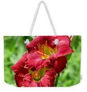 Red Lily Pair Weekender Tote Bag