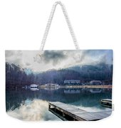 Nature Around Lake Lure Chimney Rock And Broad River North Carol Weekender Tote Bag