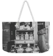 New Orleans Apothecary - Bw Haze Weekender Tote Bag