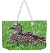 New Zealand - Female Mallard Duck Weekender Tote Bag