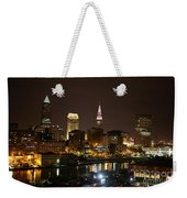 Nightlife In Cleveland Weekender Tote Bag