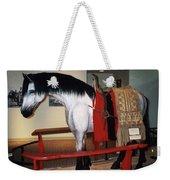 North Dakota Cowboy Hall Of Fame Weekender Tote Bag