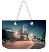 November, 2017, Charlotte, Nc, Usa - Early Morning In The City O Weekender Tote Bag