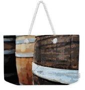 Oak Wine Barrel Weekender Tote Bag