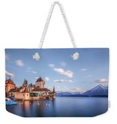 Oberhofen - Switzerland Weekender Tote Bag