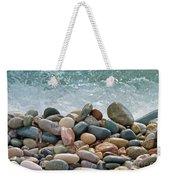 Ocean Stones Weekender Tote Bag by Stelios Kleanthous