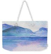 Ocean Watercolor Hand Painting Illustration. Weekender Tote Bag