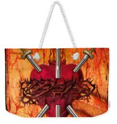 3 Of Swords Weekender Tote Bag