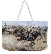 Oklahoma Land Rush, 1889 Weekender Tote Bag