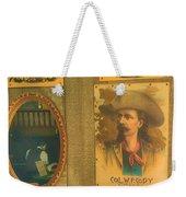 Old West Antiques Weekender Tote Bag