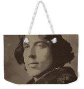 Oscar Wilde 2 Weekender Tote Bag