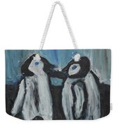 Penguins Weekender Tote Bag