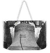 Philadelphia: Liberty Bell Weekender Tote Bag