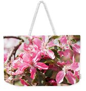 Pink Cherry Tree Weekender Tote Bag