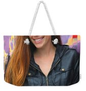 Portrait Of A Young Woman Weekender Tote Bag