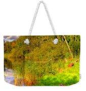 Q Landscape Weekender Tote Bag