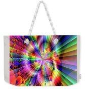 Rainbow Light Weekender Tote Bag