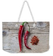 Red Chili Pepper Weekender Tote Bag
