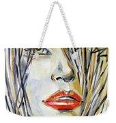 Red Lipstick 081208 Weekender Tote Bag