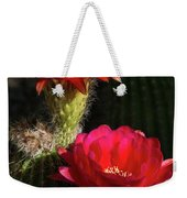 Red Torch Cactus  Weekender Tote Bag