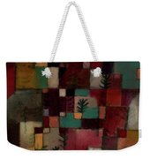 Redgreen And Violet-yellow Rhythms Weekender Tote Bag
