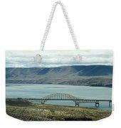 River Bridge Weekender Tote Bag