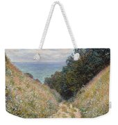 Road At La Cavee. Pourville Weekender Tote Bag