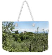 Rolling Green Hills With Trees Weekender Tote Bag