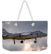 Royal Navy Sea Harrier Weekender Tote Bag