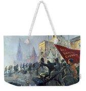 Russian Revolution, 1917 Weekender Tote Bag