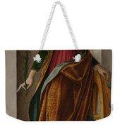 Saint Catherine Of Alexandria Weekender Tote Bag