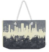 San Francisco California Skyline Weekender Tote Bag