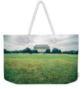 Scenes Around Lincoln Memorial Washington Dc Weekender Tote Bag