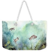 3 Sea Turtles Weekender Tote Bag