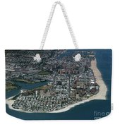 Seagate And Brighton Beach In Brooklyn Aerial Photo Weekender Tote Bag